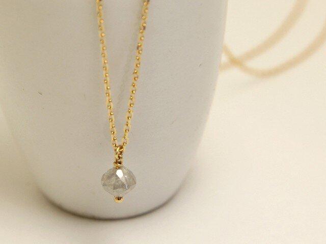 K18 アイス ダイヤモンド ネックレスの画像1枚目