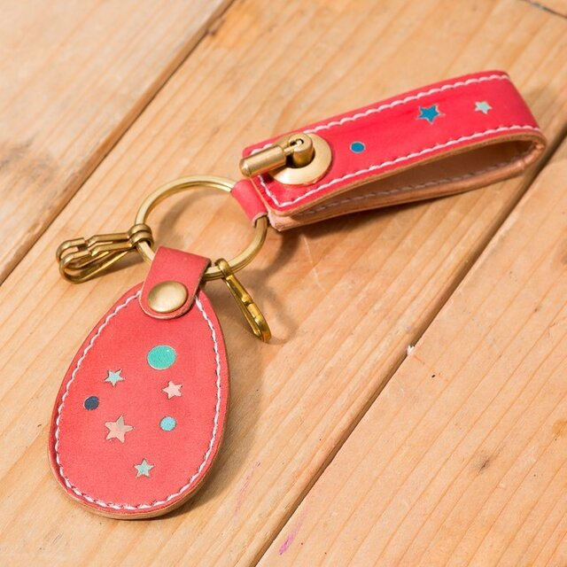 LEATHER KEY HOLDER(Inray okosi ver)の画像1枚目