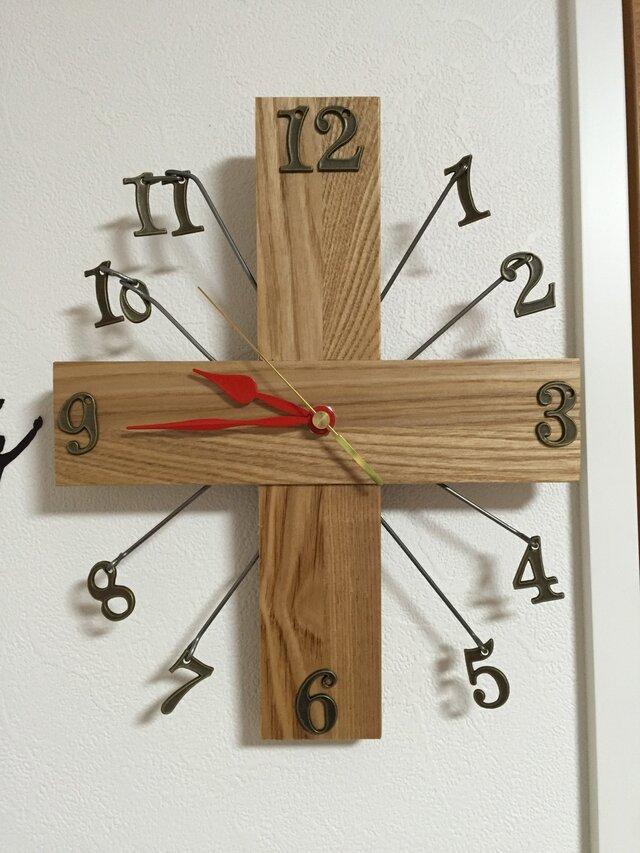 ブラブラ壁掛け時計の画像1枚目