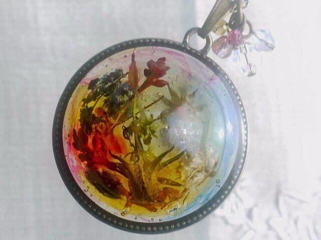Fairy's garden ペンダントの画像1枚目