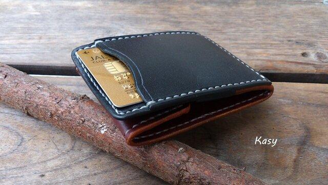 カードとコインの財布Ⅱ CC-06 コインケース 2色コンビの画像1枚目