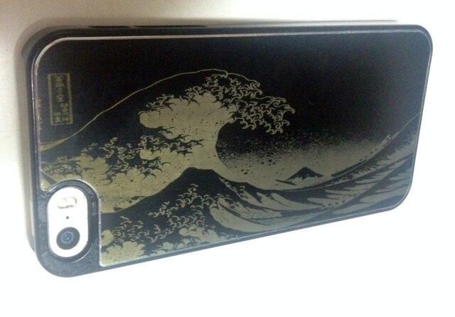 葛飾北斎 富嶽三十六景携帯ケース( iPhone5用)の画像1枚目