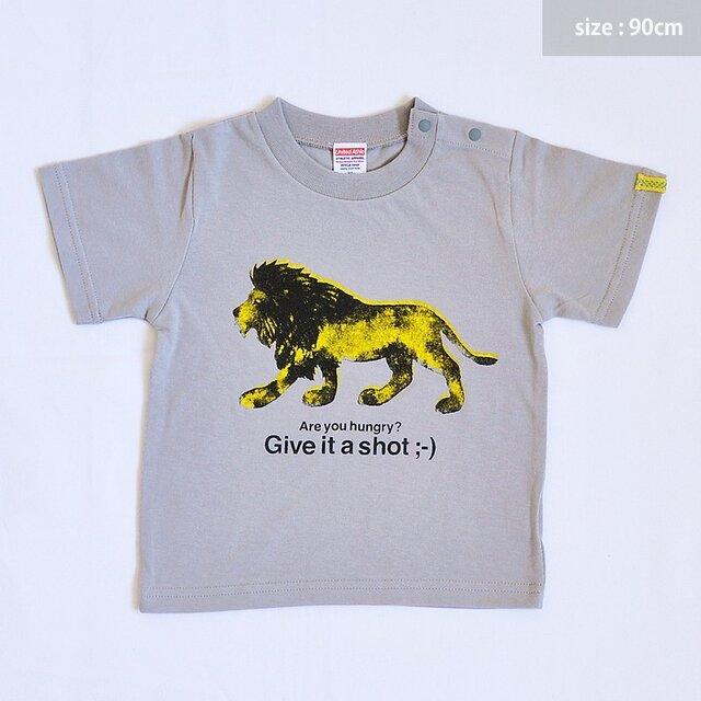Lion T-shirt 90cmの画像1枚目