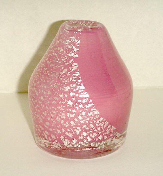 Pink Flower vase Japaneseの画像1枚目