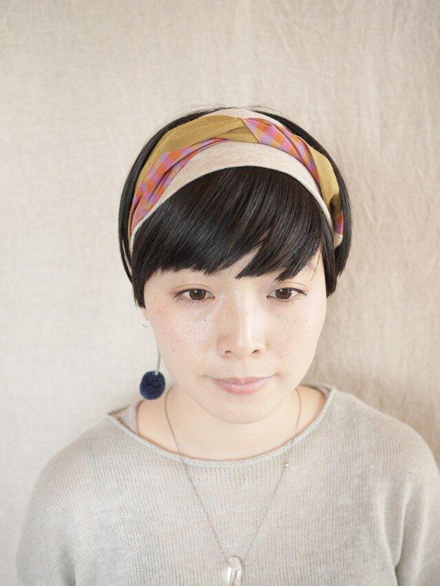 NEW▷patchwork turban <ss 3cloth-09>の画像1枚目