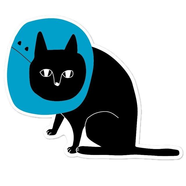 エリザベス黒猫ポストカード【8枚入り 1000円】の画像1枚目