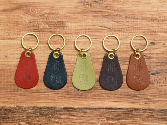 栃木レザーと真鍮で作ったポケットサイズの靴ベラ【名入れ出来ます】の画像1枚目