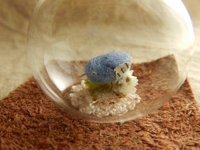 しあわせの青い鳥ガラスドームの画像1枚目