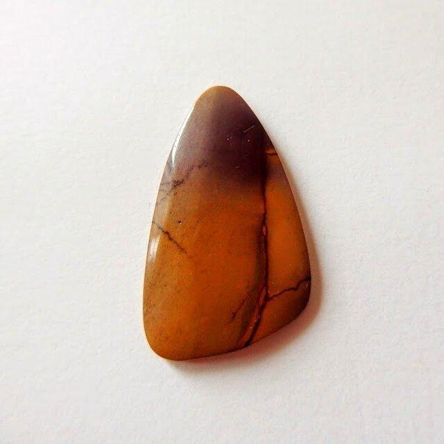 ムーカイト  動物たちのための石 34mm/ルース・カボションの画像1枚目