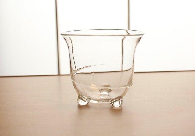 『冷茶グラス白』耐熱ガラスの画像1枚目