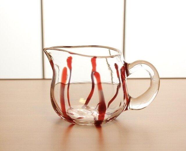 『ガラスのピッチャー』耐熱ガラスの画像1枚目