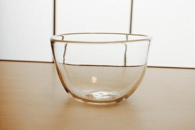 『ガラスのボウル小』耐熱ガラスの画像1枚目
