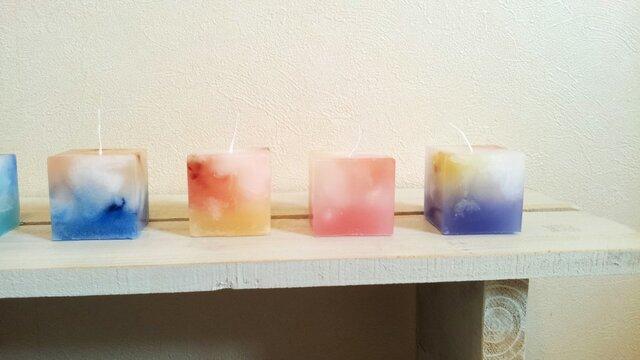 【再販】cube candle set キューブキャンドルセットの画像1枚目
