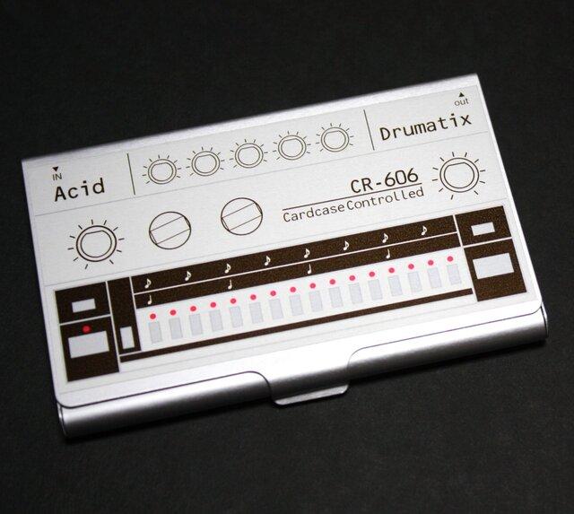 【カードケース】Acid CardCase Drumatix CR-606 カードケースリズムマシン Ver2.0の画像1枚目