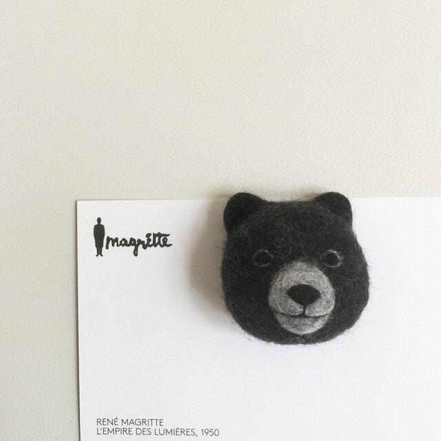 BLACK BEAR MAGNETの画像1枚目