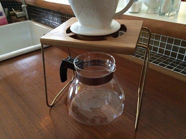 コーヒー ドリップスタンド Coffee ハンドドリップ用1ポイント 珈琲 おしゃれ ギフト 贈り物 職人仕上げの画像1枚目
