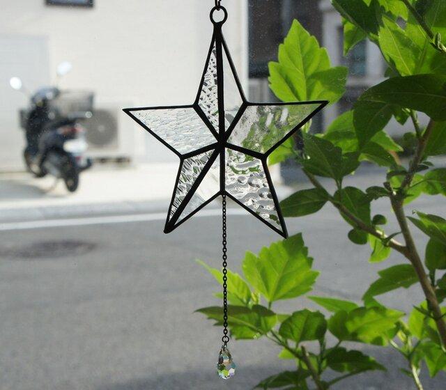 星の雫(サンキャッチャー)の画像1枚目