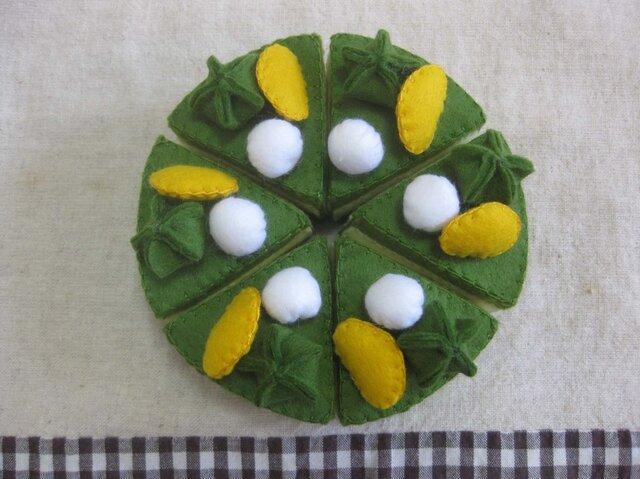 抹茶ケーキの画像1枚目