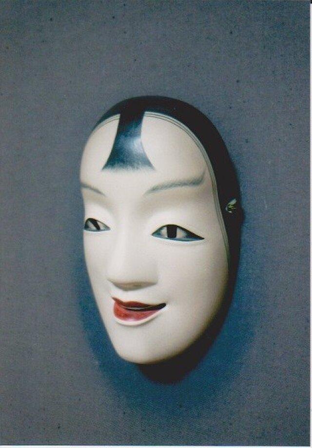 "Noh-mask/ No.08  ""ko-kassiki(small)""の画像1枚目"