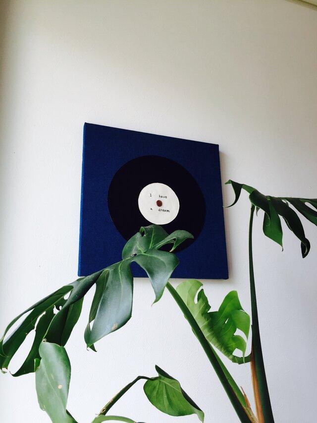 ファブリックパネル レコードの画像1枚目