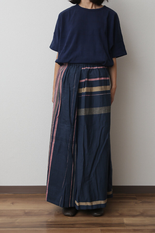 powan skirt LONG cotton100の画像1枚目