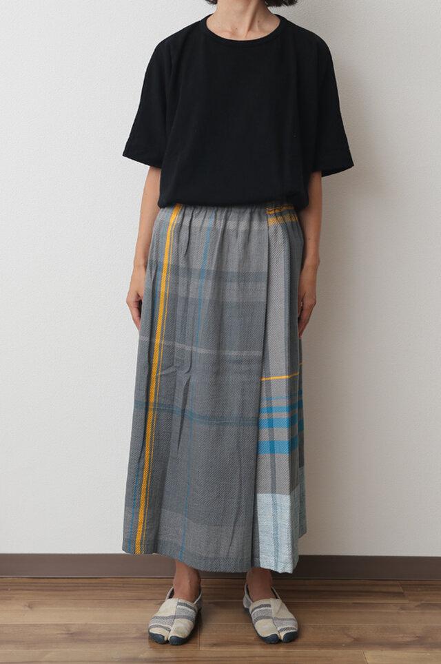 powan skirt SHORT COTTON100の画像1枚目