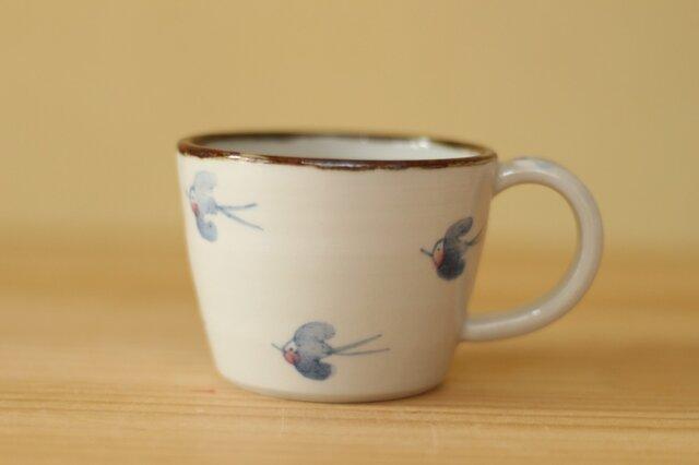 幸せの青い鳥のカップ。の画像1枚目
