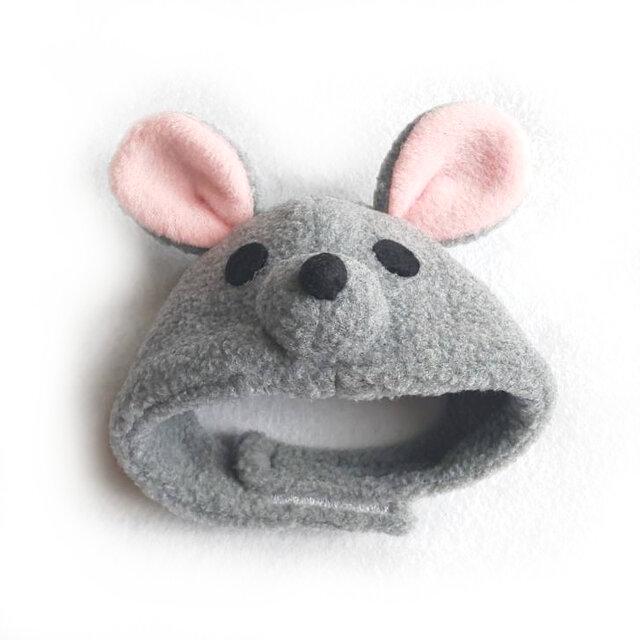 ネズミのかぶりもの(帽子)【S/M/L】の画像1枚目