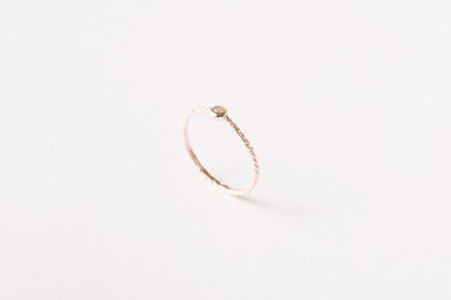 Line Ring K10 Diaの画像1枚目