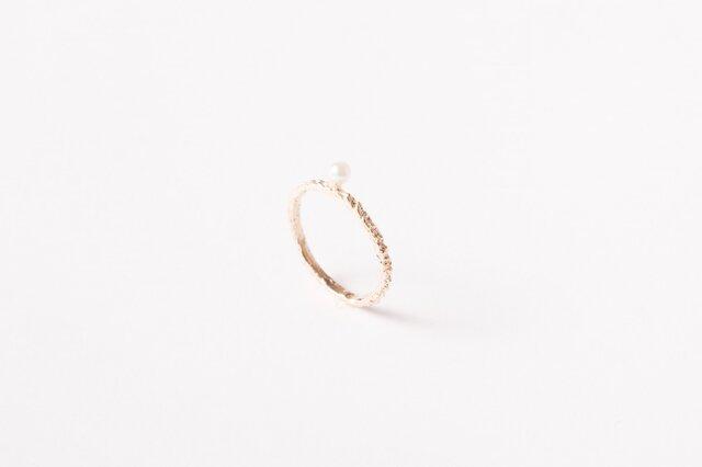 Line Ring K10 ACOYA ~#6の画像1枚目