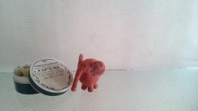 茶色のミニ・ゾウの画像1枚目