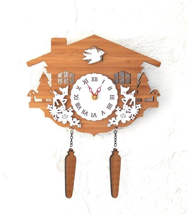 Decoylabの掛け時計 CUCKOO-Cの画像1枚目