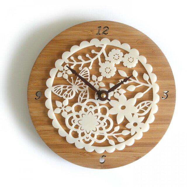 Decoylabの掛け時計 KIRIE-02の画像1枚目