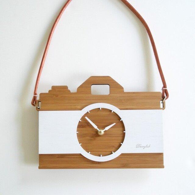 Decoylabの掛け時計 VINTAGE CAMERAの画像1枚目
