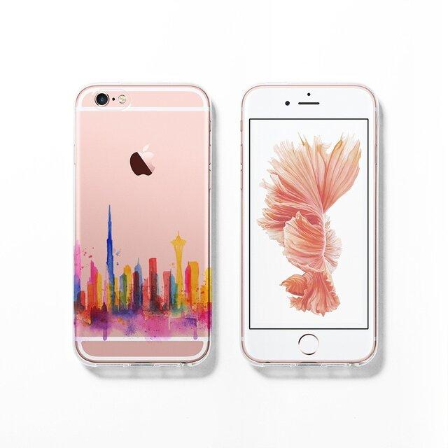 Dubai ☆ iPhone 7 / 7+ / SE / 6 / 6S / 6+ / 6S+/ 5 ソフト ケース  C118の画像1枚目