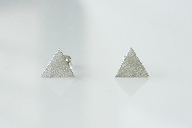 【受注販売】ピアス -三角-の画像1枚目