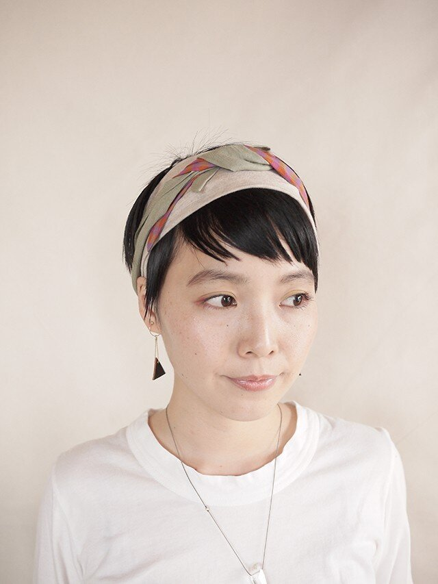 NEW▷patchwork turban <ss 3cloth-013>の画像1枚目