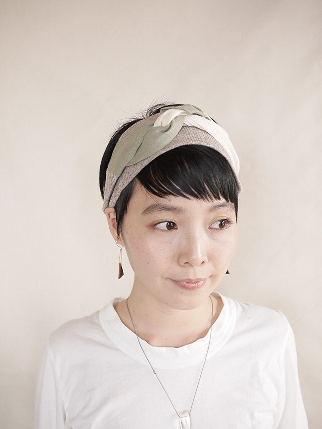 NEW▷patchwork turban <ss 3cloth-014>の画像1枚目