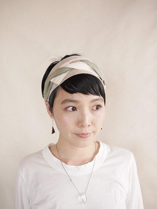 NEW▷patchwork turban <ss 3cloth-015>の画像1枚目