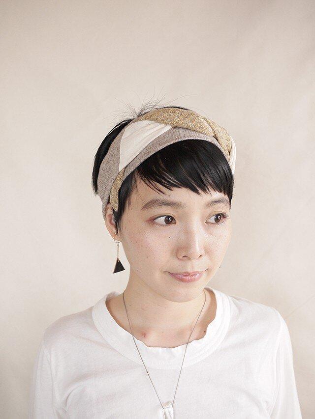 NEW▷patchwork turban <ss 3cloth-020>の画像1枚目