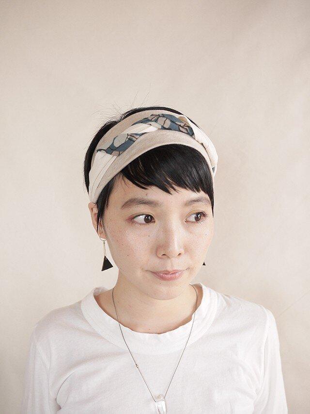 NEW▷patchwork turban <ss 3cloth-021>の画像1枚目