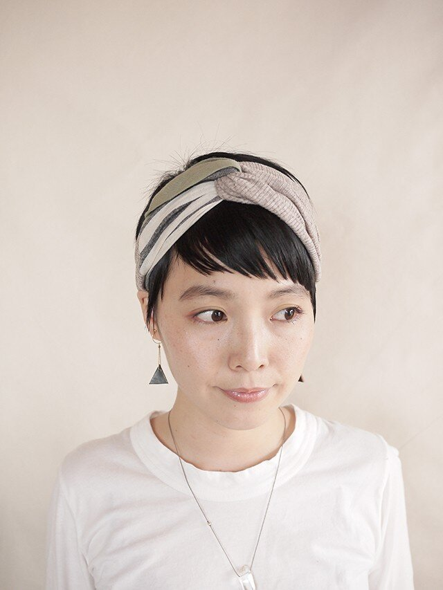 NEW▷patchwork turban <ss 3cloth-022>の画像1枚目