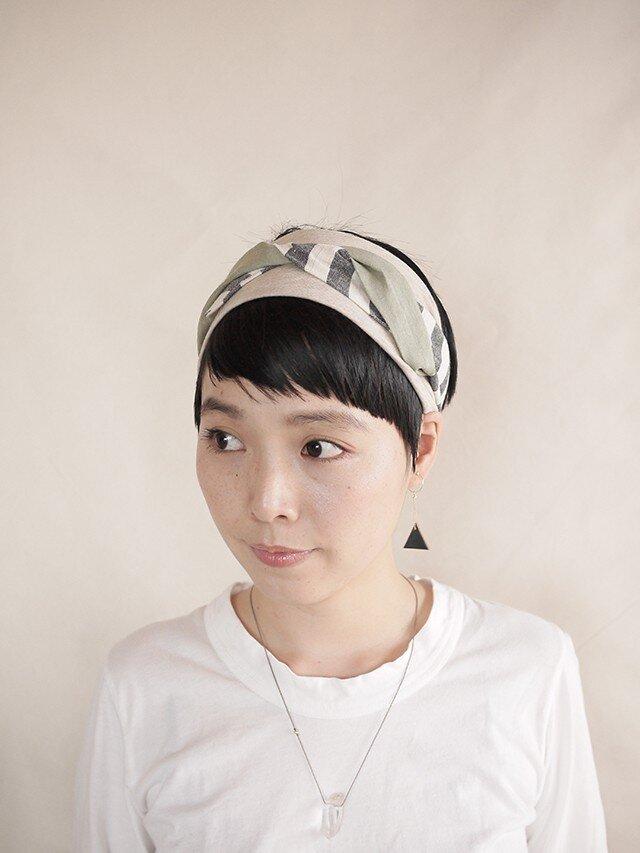 NEW▷patchwork turban <ss 3cloth-023>の画像1枚目