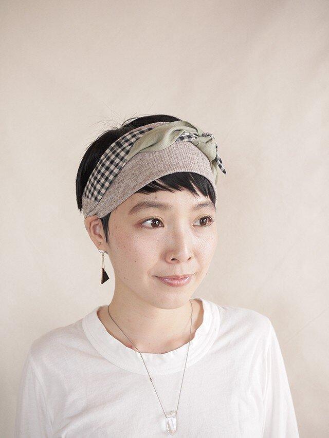 NEW▷patchwork turban <ss 3cloth-024>の画像1枚目
