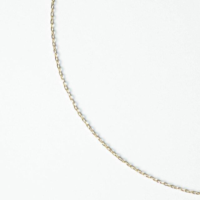 45cmネックレス Slide Chain C-901◇K18YG/PGの画像1枚目