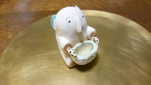 動物の置物~elephant~001の画像1枚目