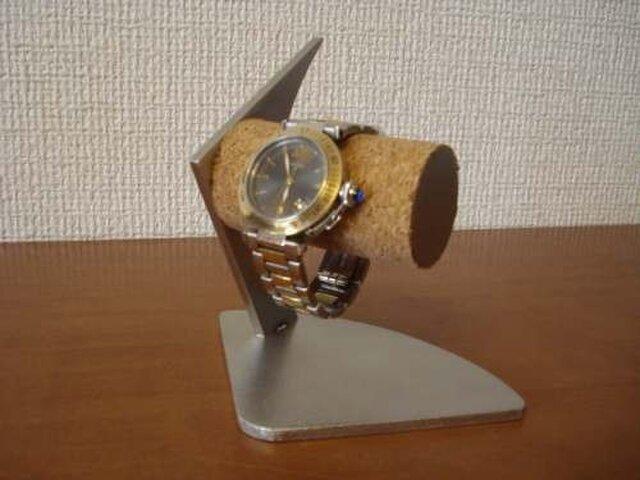 ウォッチスタンド 2本掛けデザイン腕時計スタンドの画像1枚目