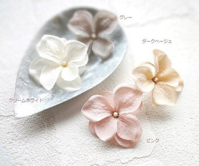 【受注生産】花びらの指輪■淡水パールと14KGF■エクリュの画像1枚目