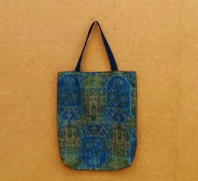 大島紬の手提げ袋 の画像1枚目
