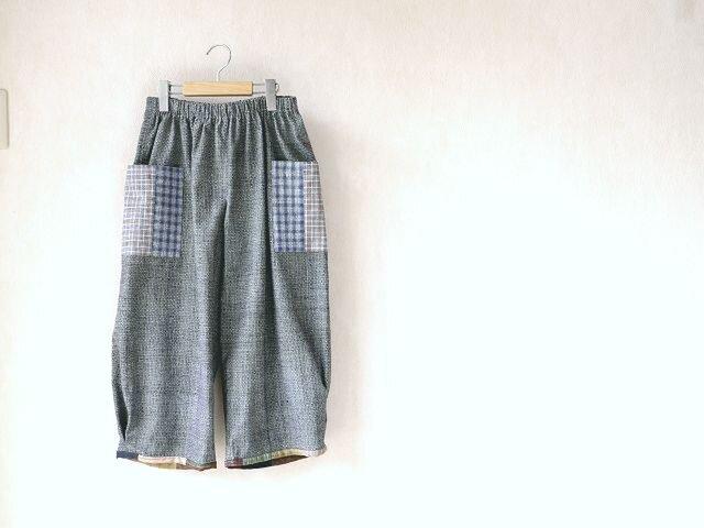 上海木綿(土布)のパンツ・2の画像1枚目